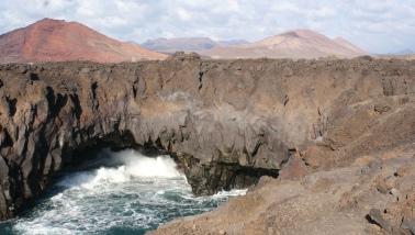 Los Hervideros, grottes volcaniques