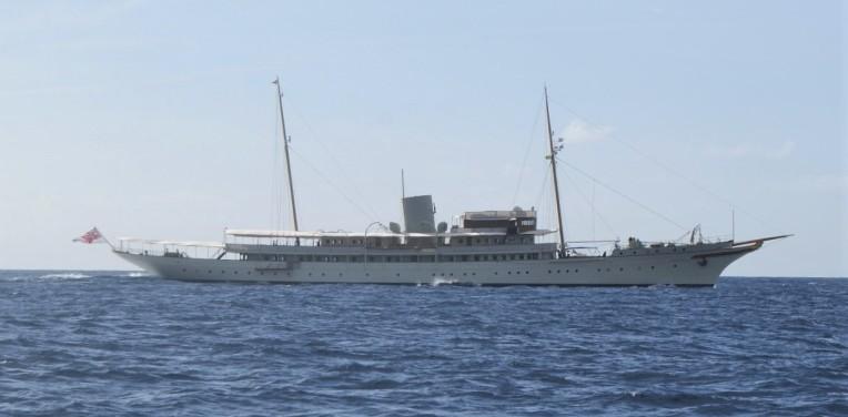 Yacht de Sir James Dyson
